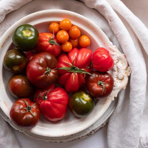 Tomatoes food photo by Terri Salminen