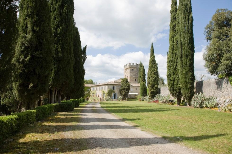 Spannocchia  in Tuscany