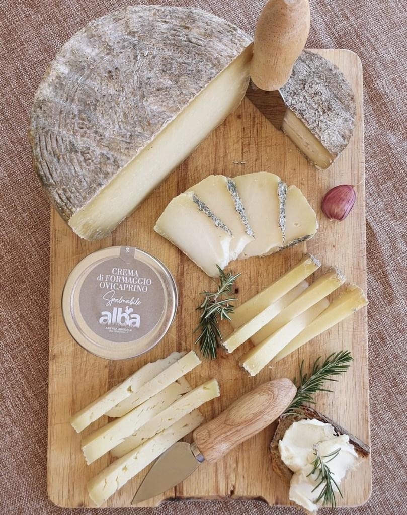 Organic cheese Alba Farm Molise
