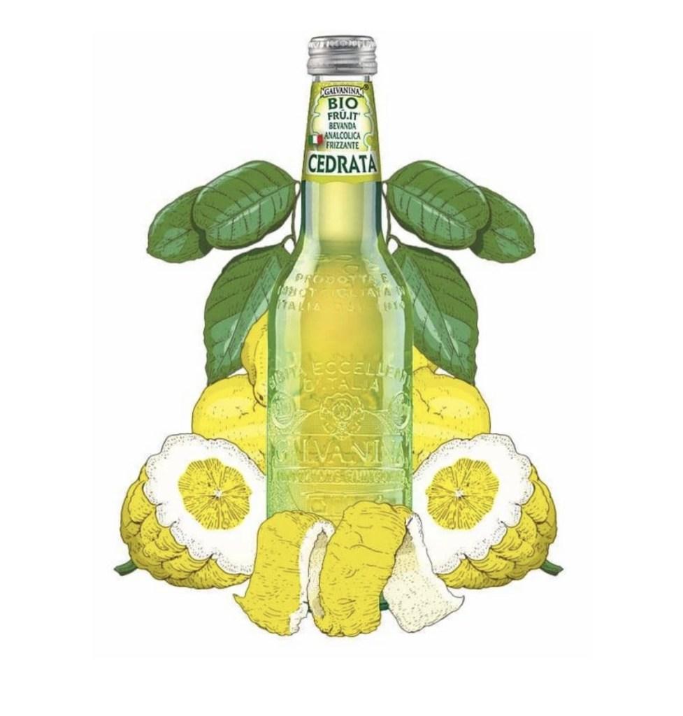 Calabrian citron beverage: cedrata