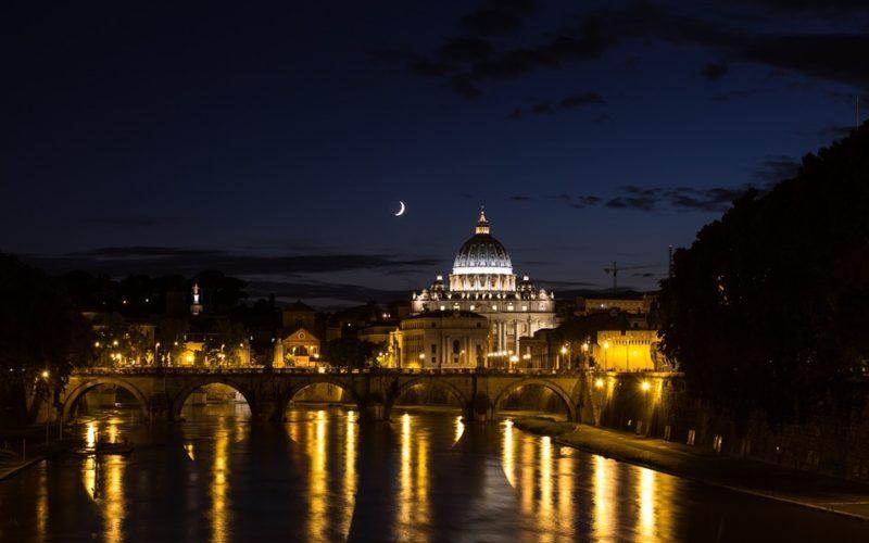 la sera a Roma