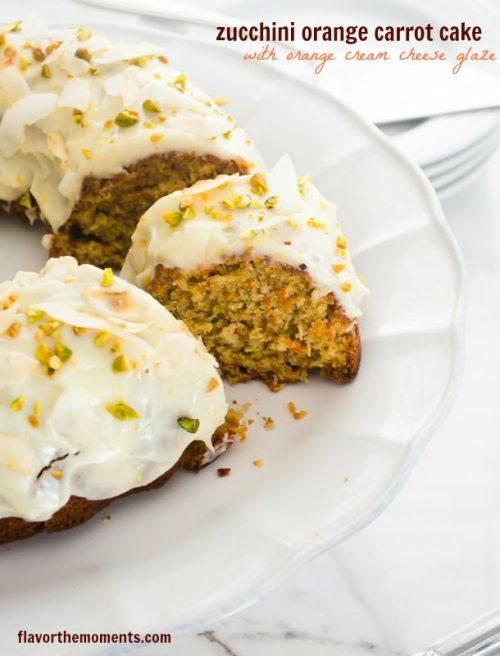 zucchini-carrot-bundt-cake-with-orange-cream-cheese-glaze1 flavorthemoments.com