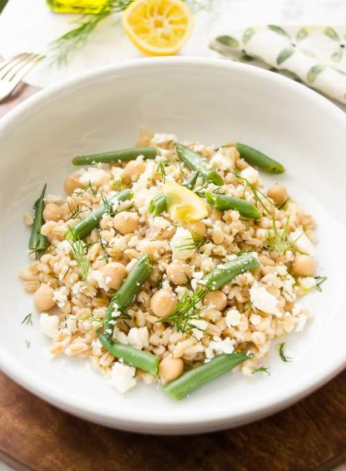 pearl-barley-salad-with-chickpeas-feta-and-lemon4 | flavorthemoments.com
