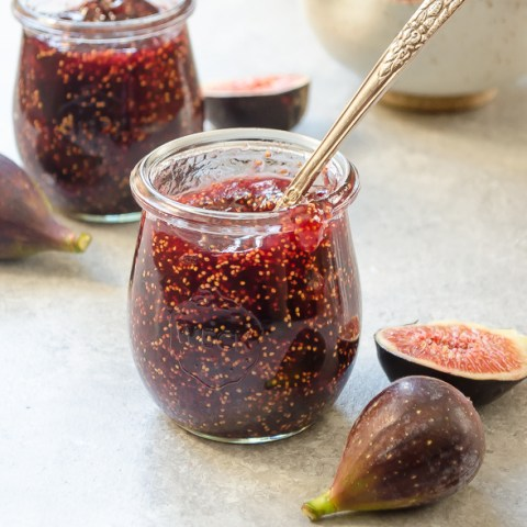 Small-Batch Fig Honey Jam