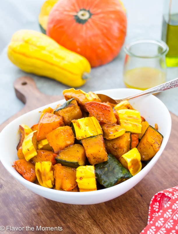 Chili Maple Roasted Winter Squash