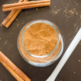 Homemade Chai Spice Mix is a warm spice blend inspired by chai tea. It's a delicious addition to quick breads, oatmeal, topping lattes, and so much more! @FlavortheMoment