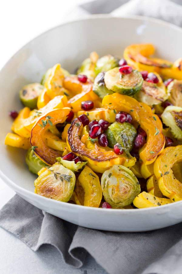 Maple Cinnamon Glazed Roasted Delicata Squash by Jessica Gavin