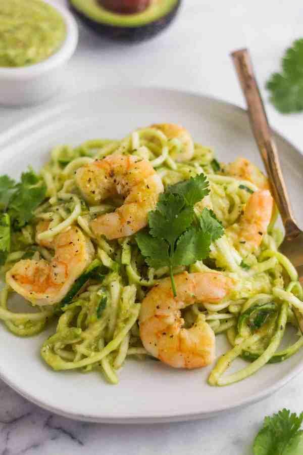 Tomatillo-Salsa-Shrimp-Zucchini-Noodles-4