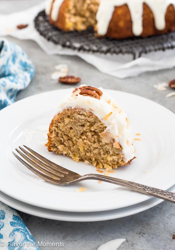 Brown Butter Hummingbird Cake