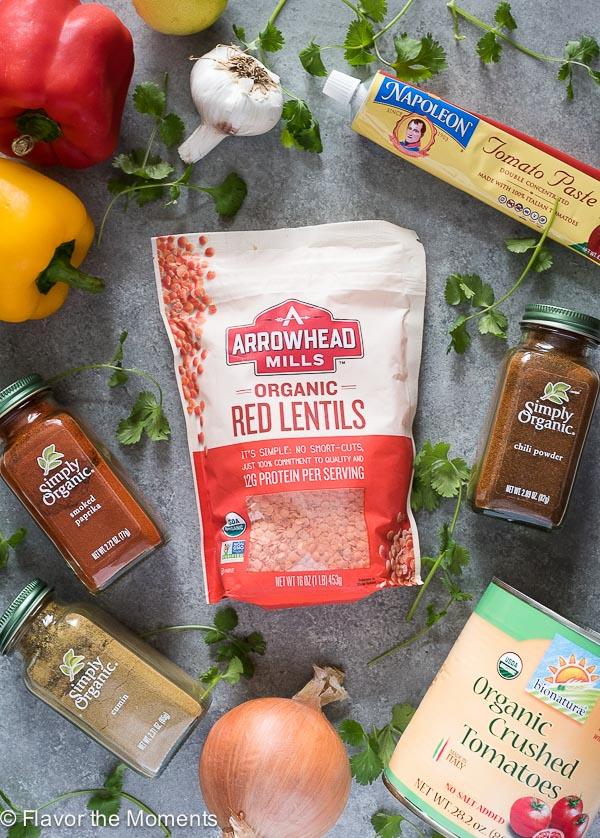 instant-pot-vegetarian-taco-lentil-chili-process-flavorthemoments