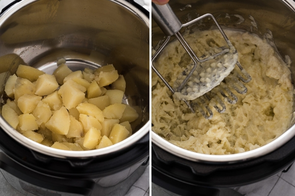 instant-pot-garlic-mashed-potatoes-process-collage-2