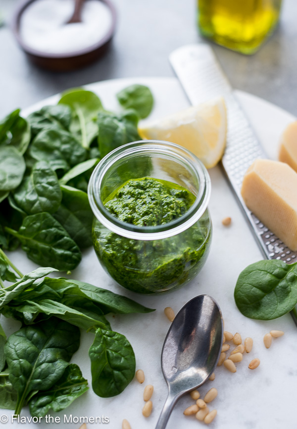 How to Make Pesto Sauce - 1