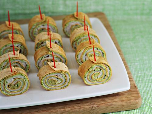 Pesto Tortilla Pinwheels Recipe