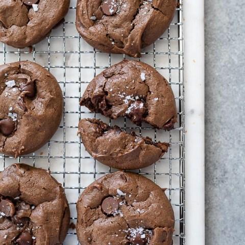Flourless Chocolate Peanut Butter Cookies