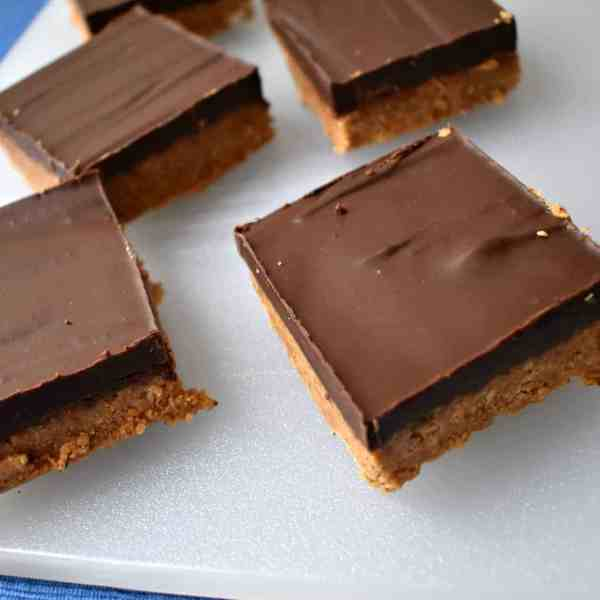 No-Bake Gluten Free Nut Butter Pretzel Squares (2 Ways)
