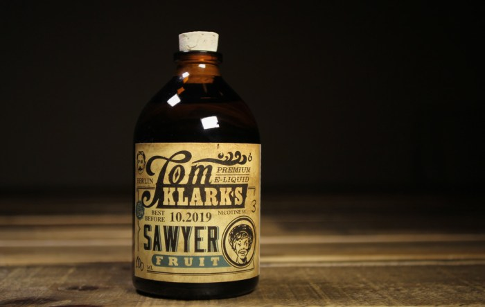 tomklarks sawyer fruit e-liquid