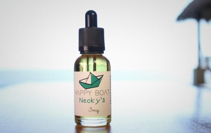 Happy Boat Necky's E-liquid