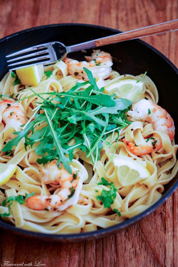 Spaghetti Scampi8.k