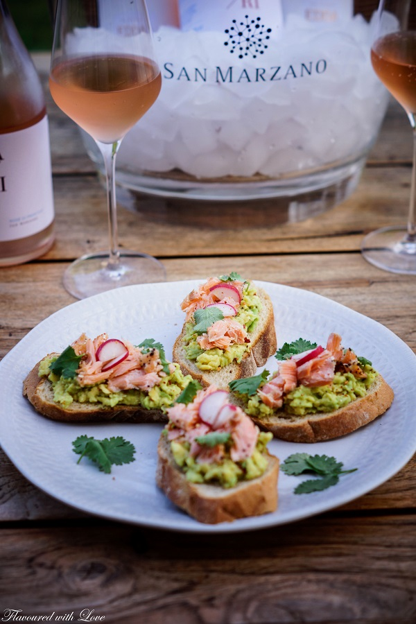 Pulled Lachs Crostini3.k
