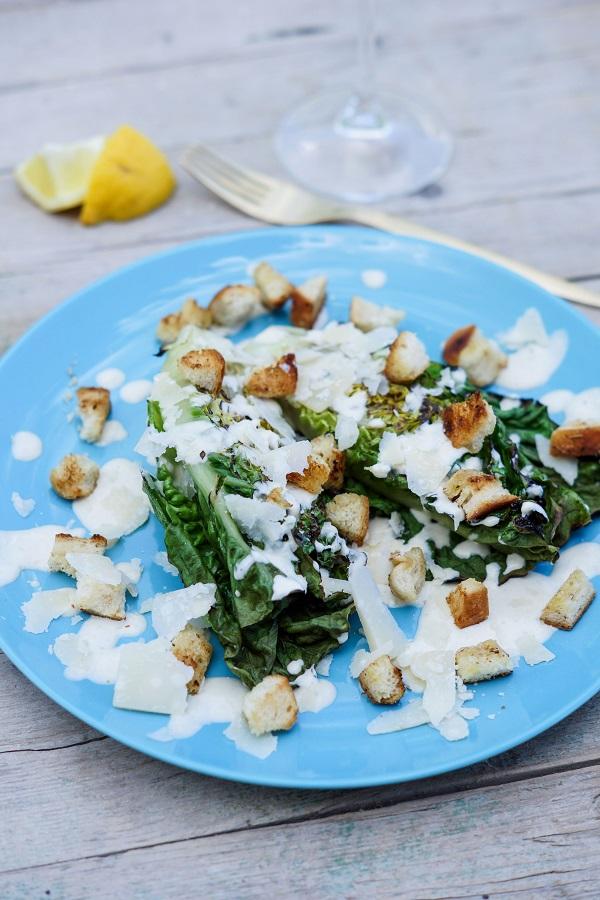 Grilled Caesar Salad.k