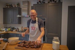 Ed, the Finchley home cook specialising in brownies