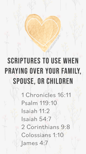 scriptures to use when praying, scripture to pray for healing, how to pray God's Word