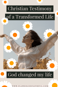 christian testimony of a transformed life: how God changed my life and from new age to Jesus, and from death to life