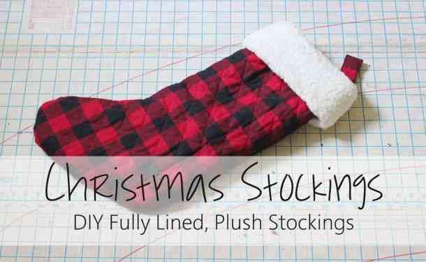 Christmas Stocking Tutorial