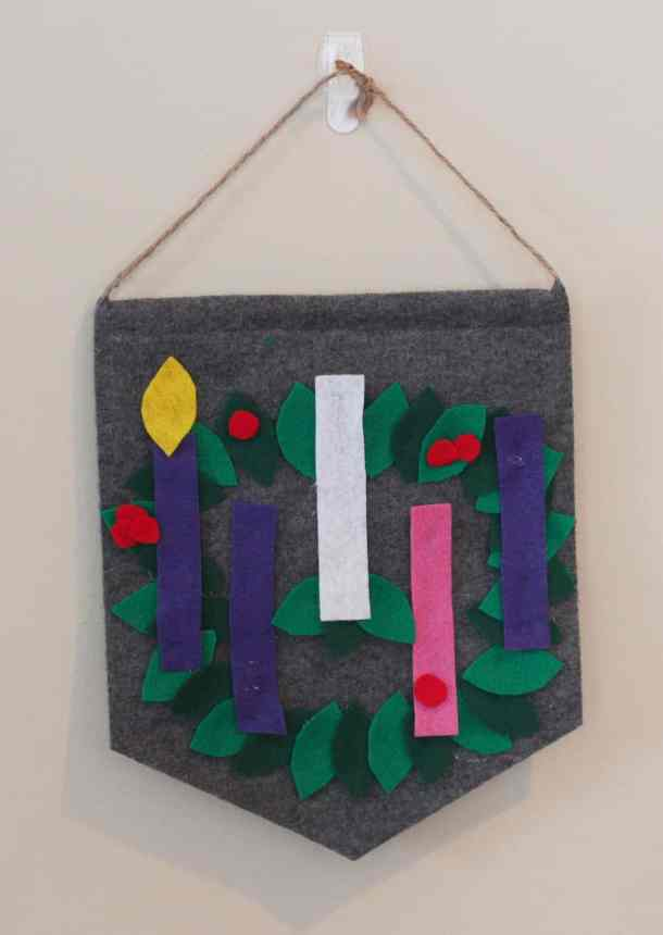 Kid Friendly Advent Wreath