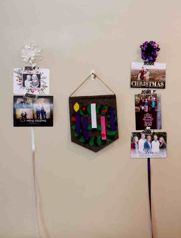 Xmas Card Advent Wreath