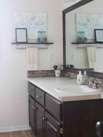 Main Bathroom Vanity Refresh