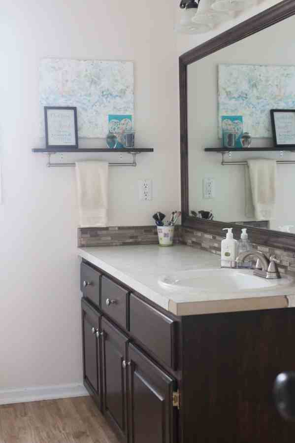Main Bathroom Vanity Refresh