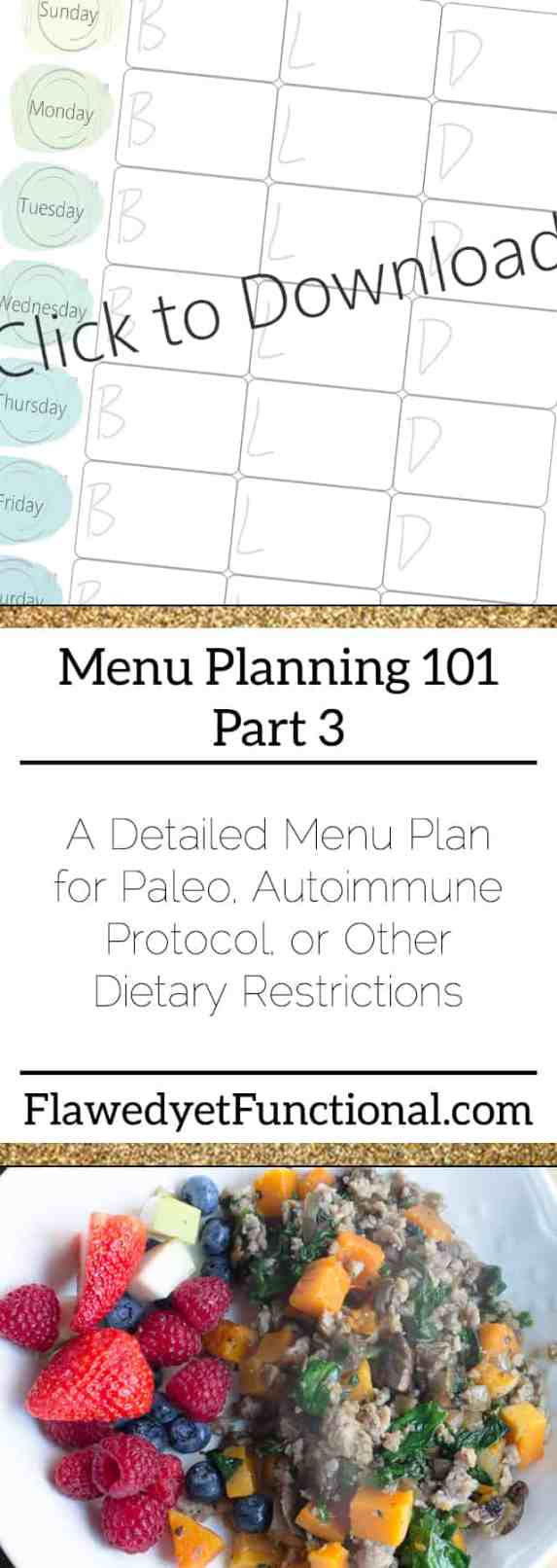 Menu Planning EveryMeal