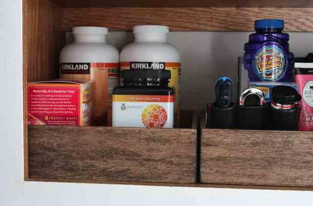 organized vitamins