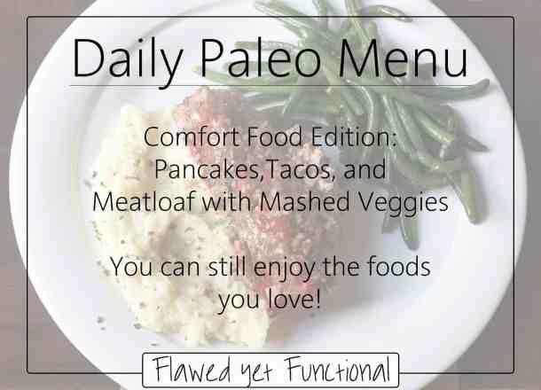 Comfort Paleo Meals