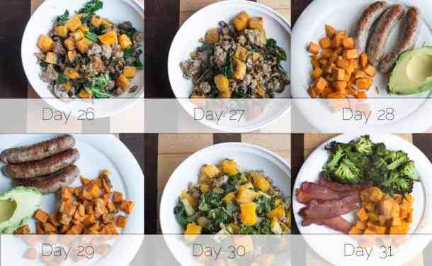 Autoimmune Protocol Breakfast Week 5
