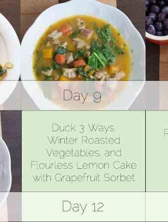 Week of Autoimmune Protocol Dinners