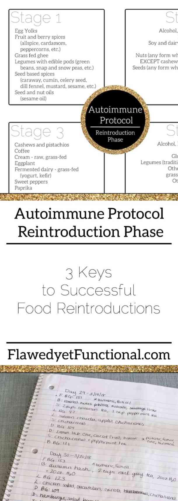Autoimmune protocol reintroduction phase