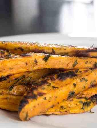 Garlic & Onion Sweet Potato Fries