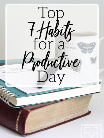 Top 7 Habits for a Productive Day