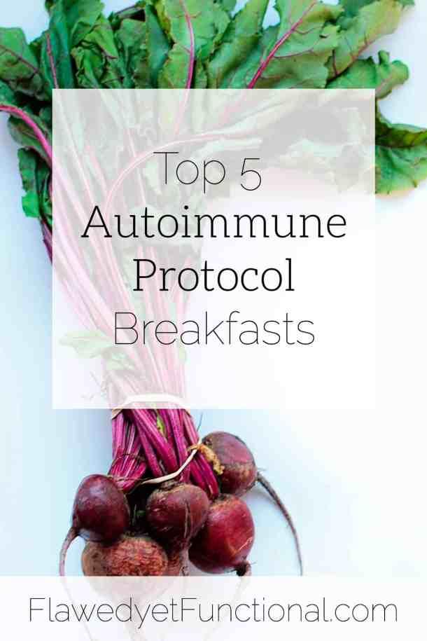 top 5 autoimmune protocol breakfasts