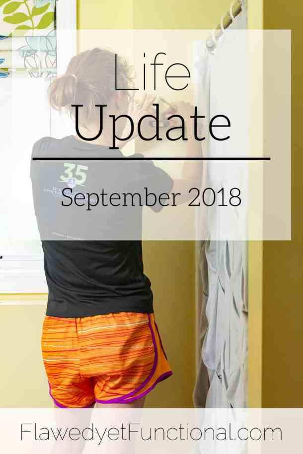 life update september 2018