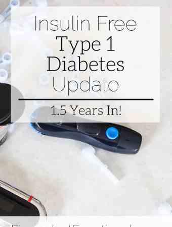 insulin free type 1 diabetes update