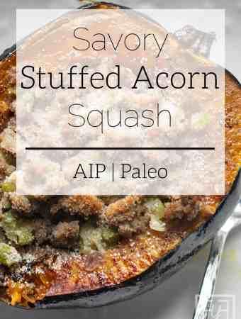 savory stuffed acorn squash