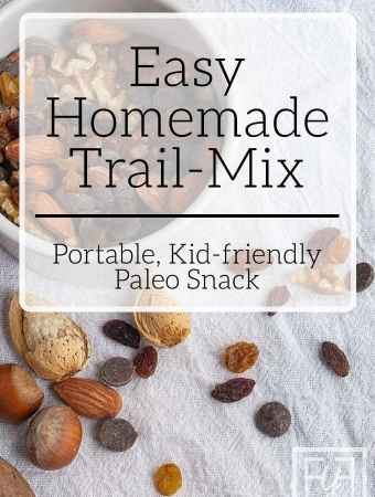Easy Homemade Trail-mix