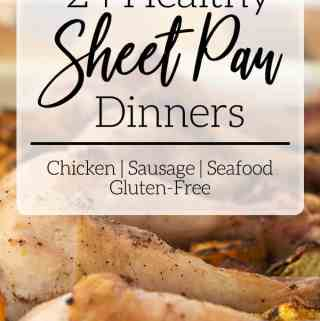 chicken drumsticks gluten free one pan dinner