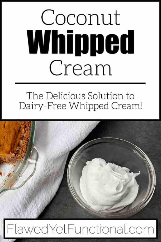 Dairy-Free Whipped Cream Recipe