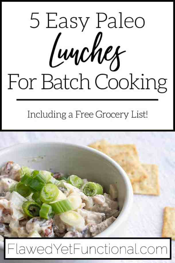 Easy Paleo Lunches for Batch Cooking