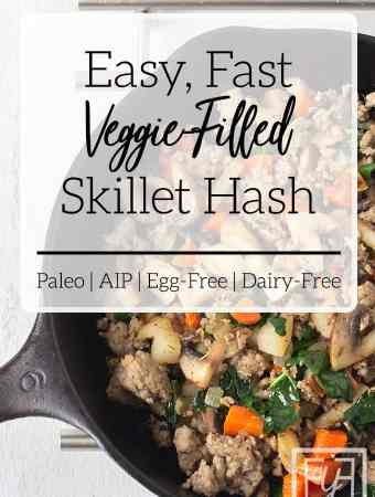 Easy Vegetable Breakfast Skillet Hash
