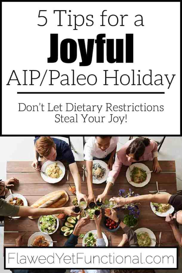 AIP and Paleo Healthy Holiday Tips